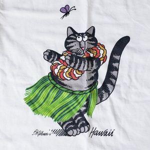 Crazy Shirts B. Kliban Hawaii T Shirt XS